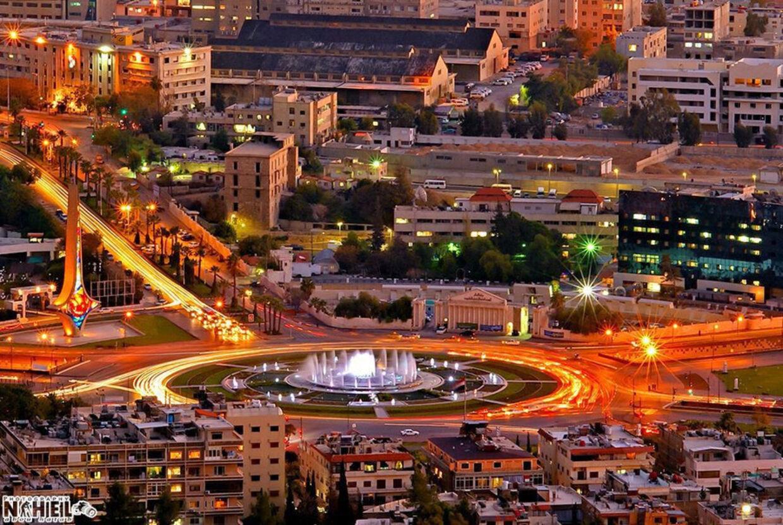 Billede af Damaskus, Syriens hovedstad.