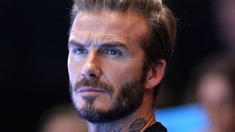 David Beckham og Henry Worsley mødte hinanden på Antarktis.