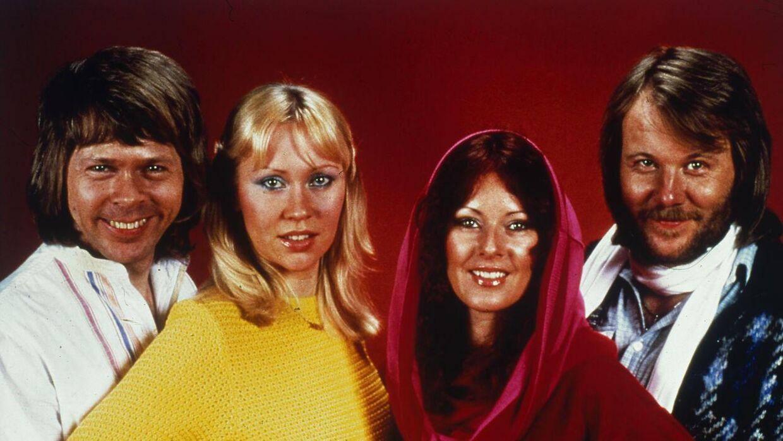 Den svenske popgruppe ABBA, som mange af os husker dem fra da de var på toppen af poppen op gennem 70'erne.