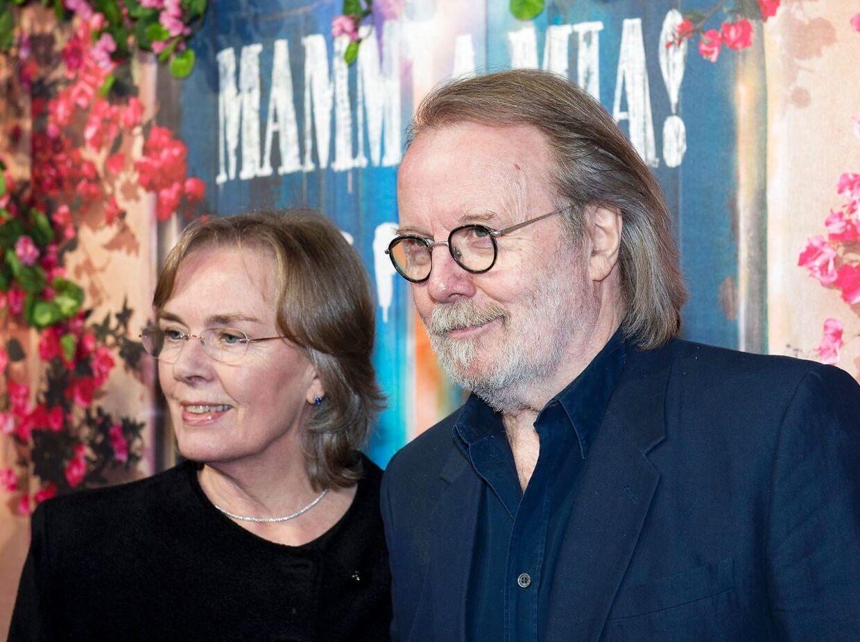 Benny Andersson og hans hustru var blandt de prominent gæster til åbningen.