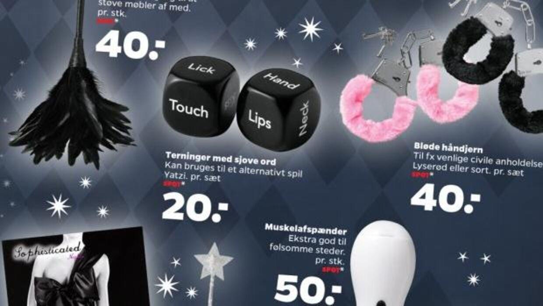 Sexlegetøjet har været meget populært hos Nettos kunder.