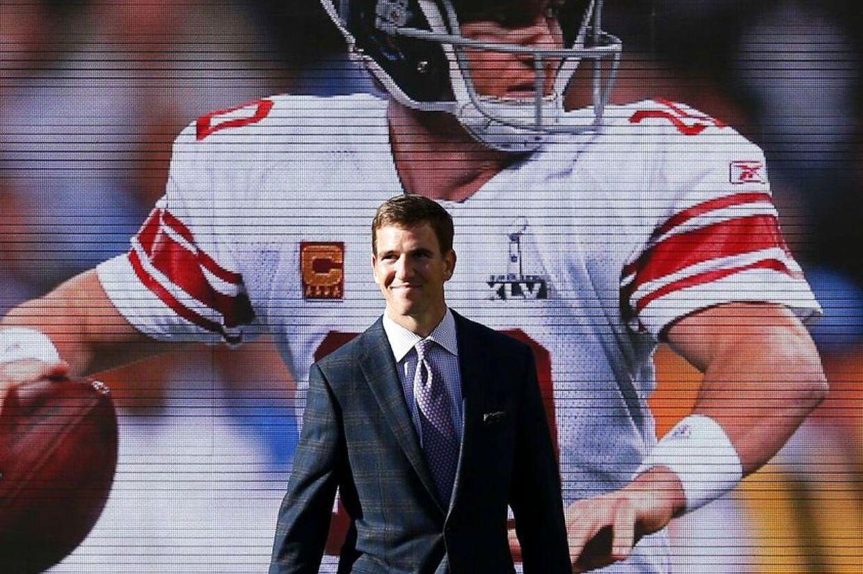 Eli Manning, dobbelt Super Bowl-vinder. Ligesom sin storebror Peyton.