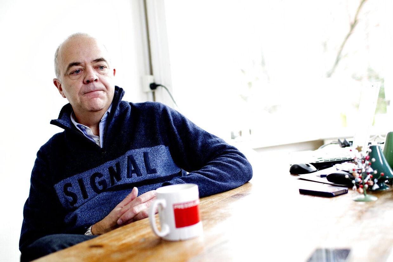 I sin biografi 'Dorph - Historier fra den anden side' fortæller tv-værten Jes Dorph-Petersen, hvordan han har måtte kæmpe med depression, ensomhed og alkoholmisbrug (arkivfoto).