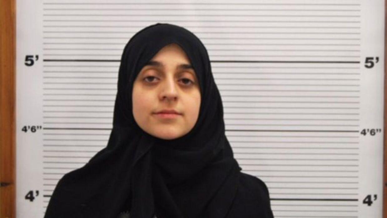 Tareena Shakil efter hun blev anholdt af politiet februar sidste år.