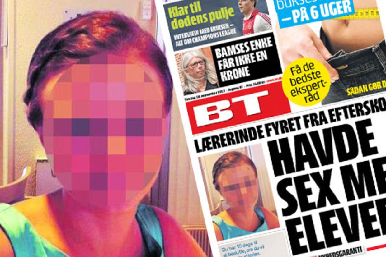 En 27-årig lærerinde er blevet fyret fra Himmerlands Ungdomsskole, fordi hun havde sex med to af efterskolens elever.