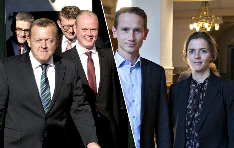 Bag kulisserne er der nu to forskellige grupper, der begge er på Løkke-holdet, men som internt slås om, hvem der er statsministerens 'rigtige venner'