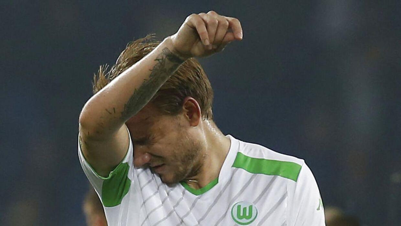 Bendtner er ikke enig i trænerens bedømmelse af hans nuværende form.