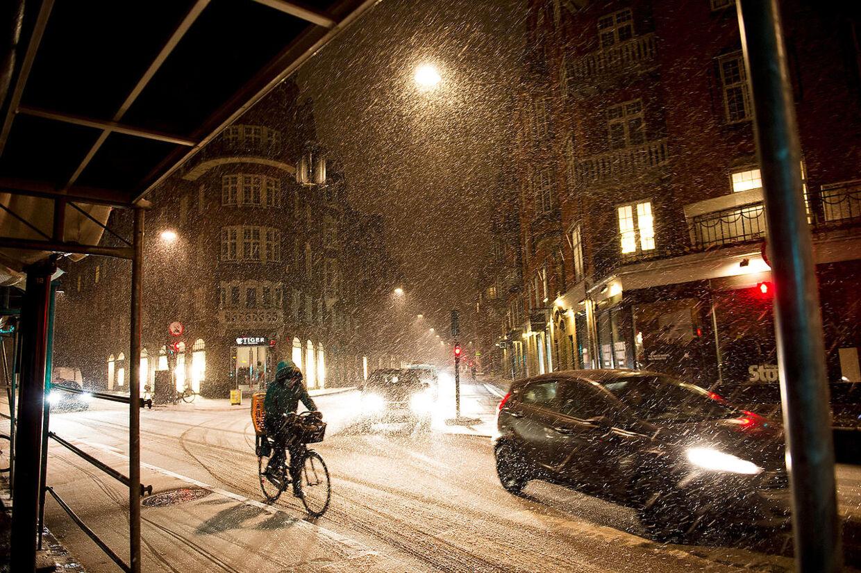Snevejr i København