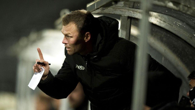 AGFs cheftræner Morten Wieghorst