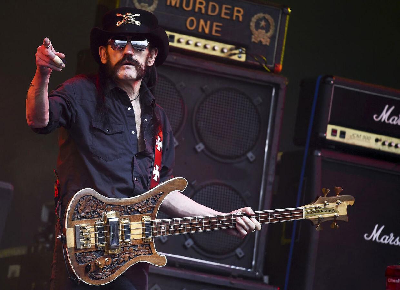ARKIVFOTO. Motörhead-Lemmy død: 70 år gammel.