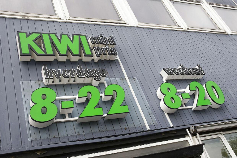 Kiwi lukker 11 butikker landet over.Se RB 12:08 26arhKiwi1a2 Kiwi holder længe åbent Foto: Kim Haugaard 25082008