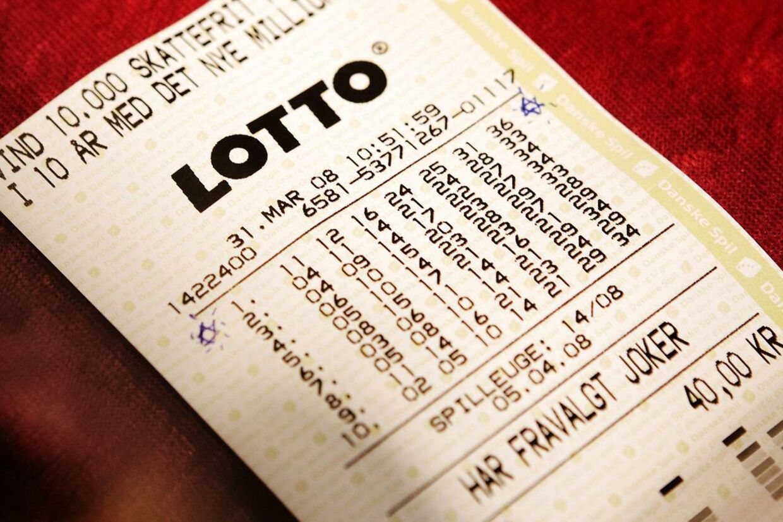 lotto danmark resultater