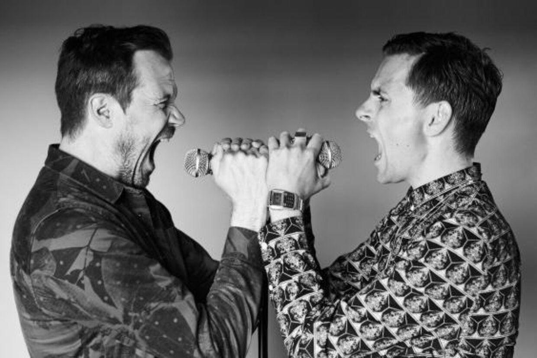 De eneste to, Peter Sommer og Simon Kvamm