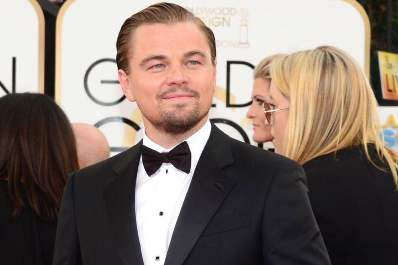 Leonardo DiCaprio vandt én af nattens fineste Golden Globe-priser som 'Bedste skuespiller i Drama'