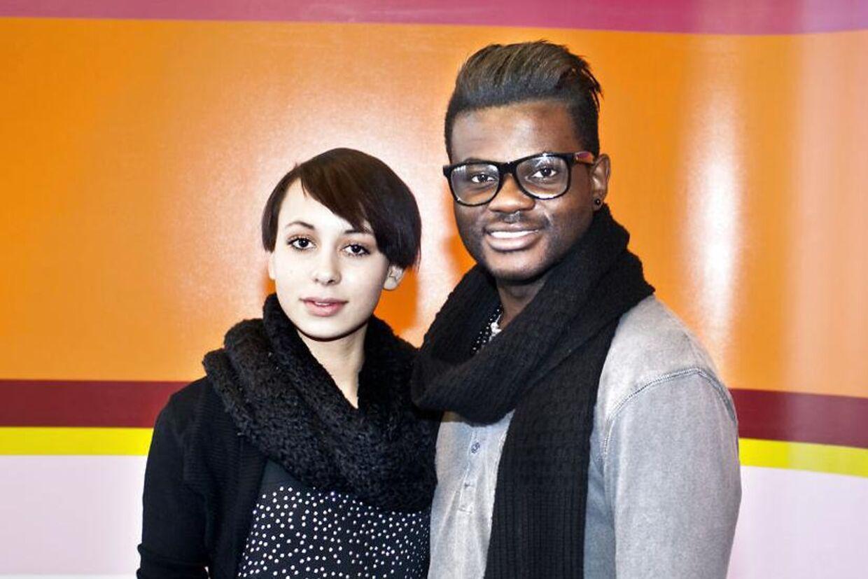 Nicoline Simone og Jean Michel, er nu ude af X factor.