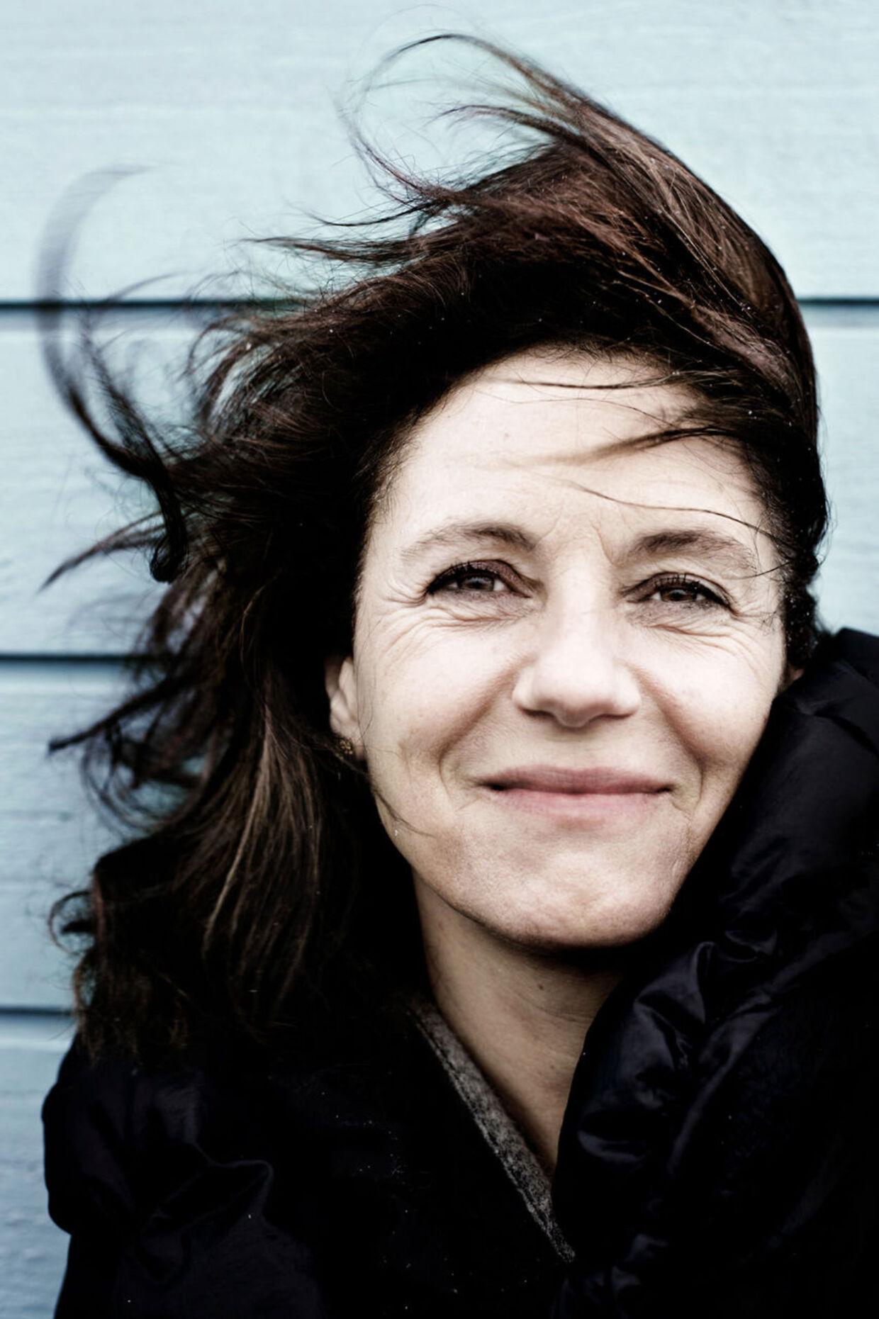Instruktør Charlotte Sieling. Her fotograferet på Helgoland på Amager Strand.