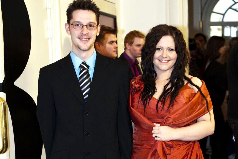 Peter og Katherina, der er kendt fra serien 'De unge mødre' er gået fra hinanden.