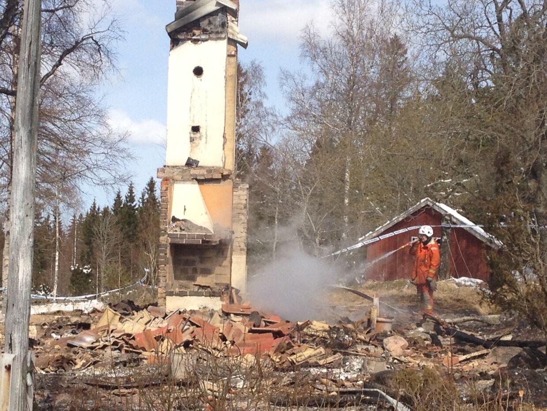 Sommerhuset var beliggende i Tidaholm nord for Göteborg.