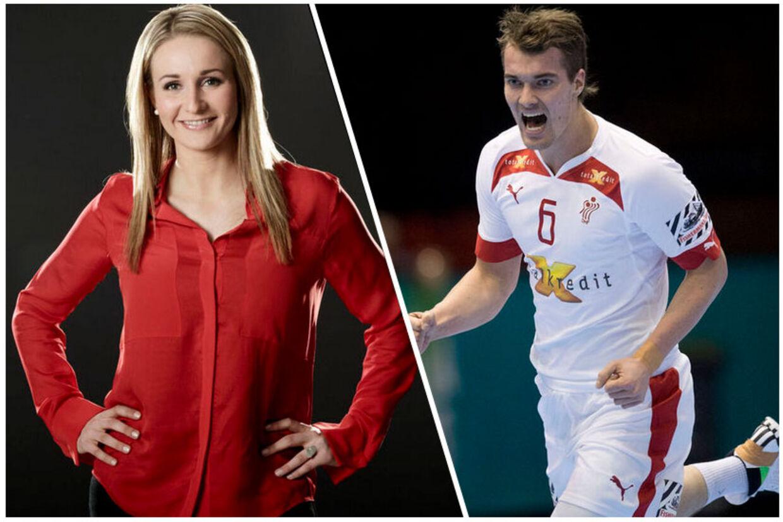 TV 2 Sportens Stine Bjerre Jørgensen kommer ikke til at dække kæresten - den danske landsholdsspiller Casper U. Mortensen - og Danmarks kampe under EM i Polen.
