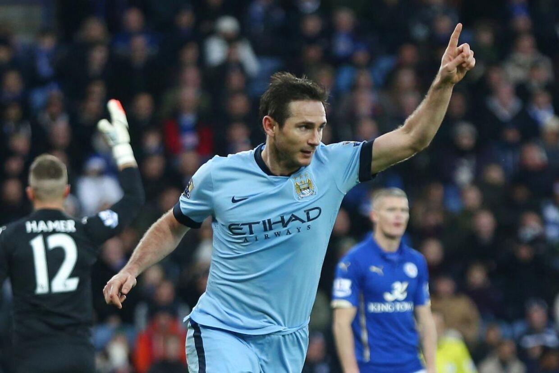 Frank Lampard spiller i resten af sæsonen for Manchester City.