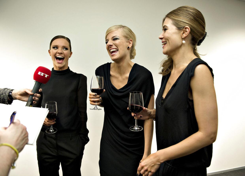 Lise Rønne, Sofie Lassen-Kahlke og Louise Wolff.