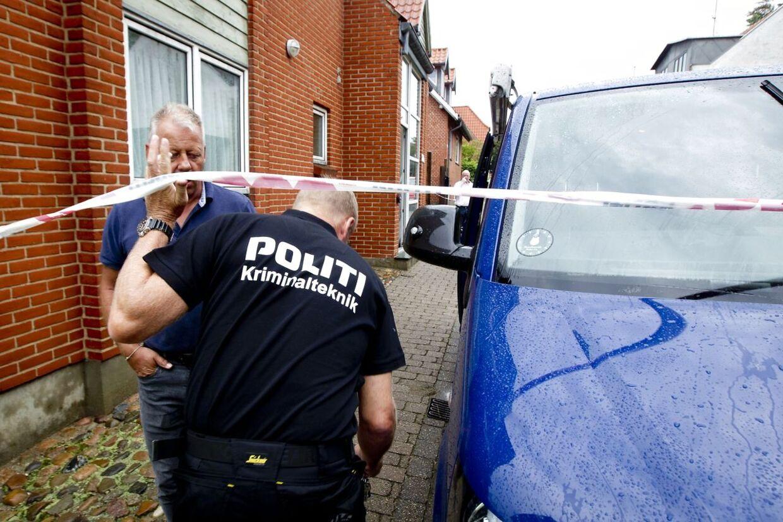 Den 77-årige Else Johannesen blev fundet dræbt i sin lejlighed i Lemvig lørdag.