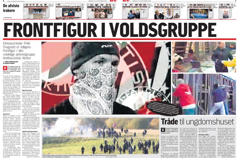 Bloggeren Kim Møller optrådte som kilde i denne BT-artikel fra 26. september 2009.