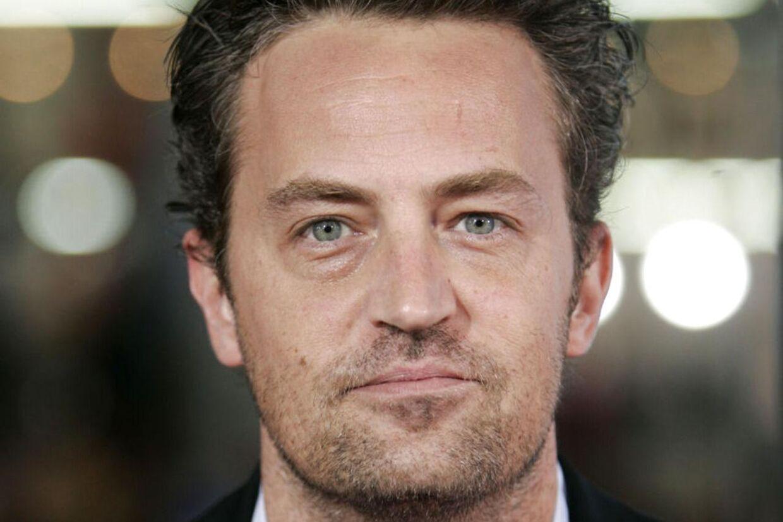 Matthew Perry er mest kendt for rollen som Chandler Bing i serien 'Venner'.