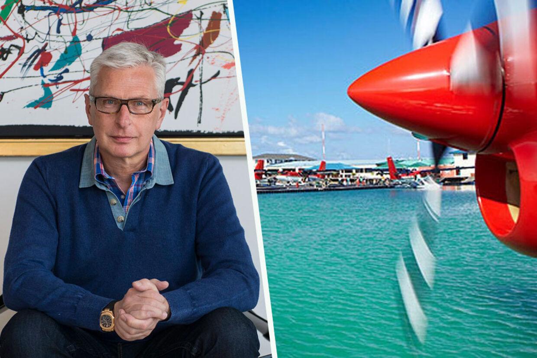 Lars Erik Nielsen har startet vandflyver-taxi selskab op på Maldiverne i 1992 og har nu solgt firmaet og tjent et milliardbeløb.