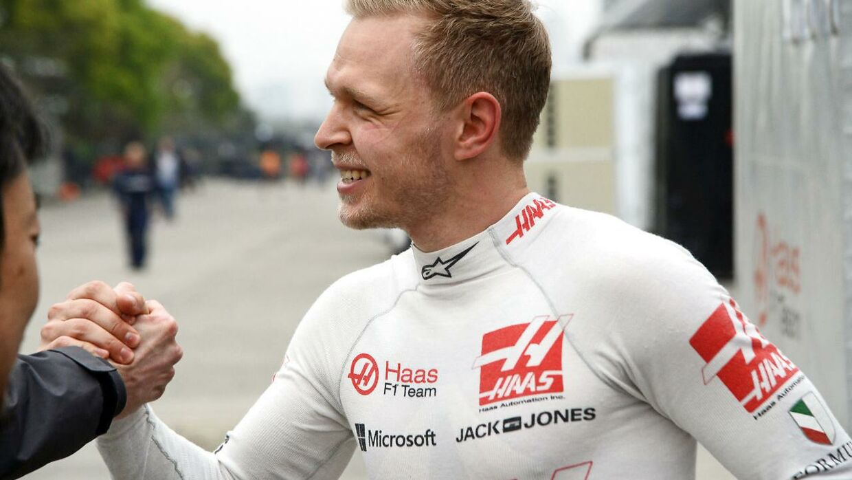Kevin Magnussen var glad efter sin 8. plads.