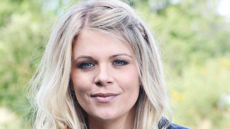 Den danske TV3-vært, Helle Smidstrup, venter barn til september.