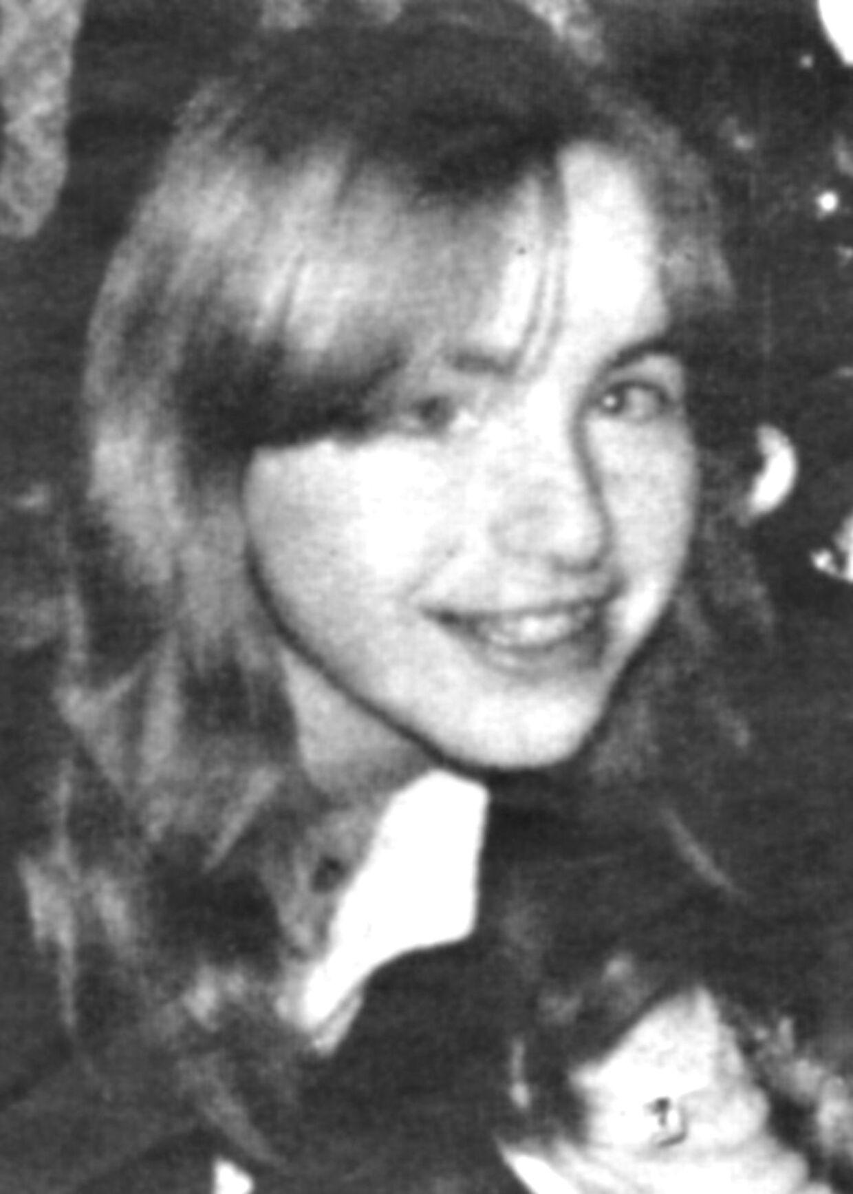 Datteren Elisabeth Fritzl, som hun så ud før sin bortførelse, der kom til at vare 24 år i den hemmelige kælder under familiens hus i den østrigske by Amstetten.