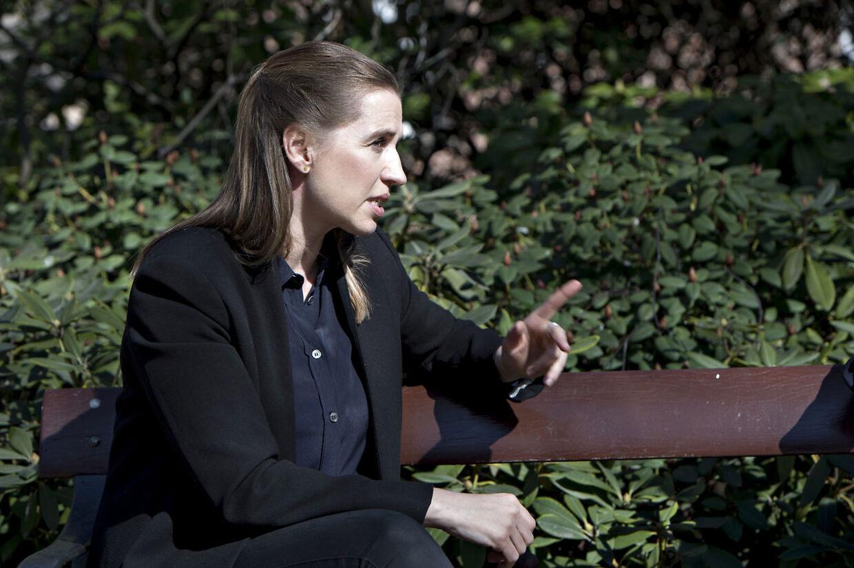 Mette Frederiksen.