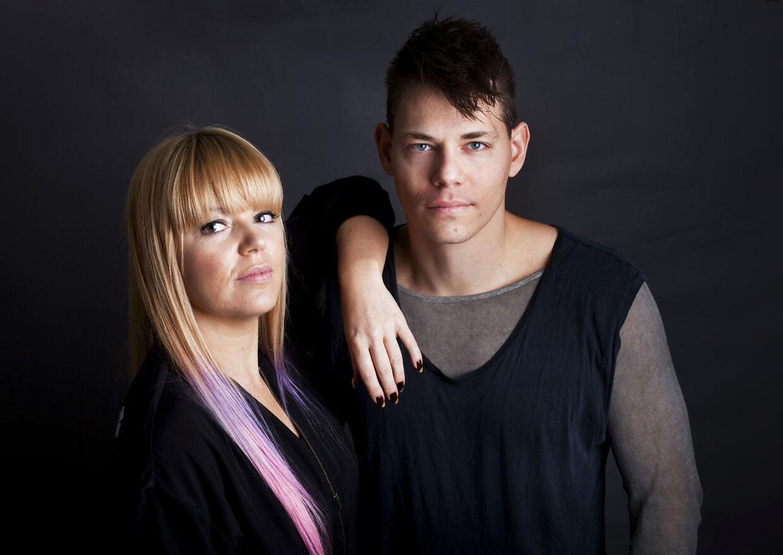 Lina Rafn og Paw Lagermann fra Infernal