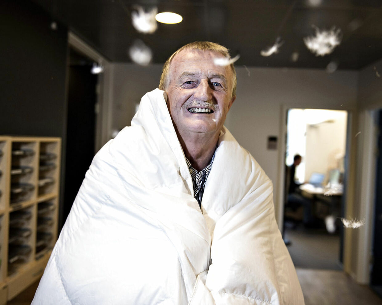 Dynekongen Lars Larsen har lige åbnet sin første butik i Belgien - Jysk-butik nummer 2.448 i alt.
