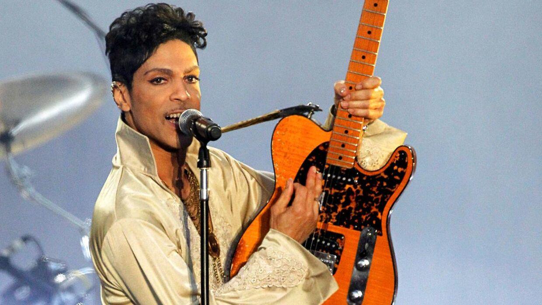 ARKIVFOTO af musikeren Prince. Billedet er fra 2011.