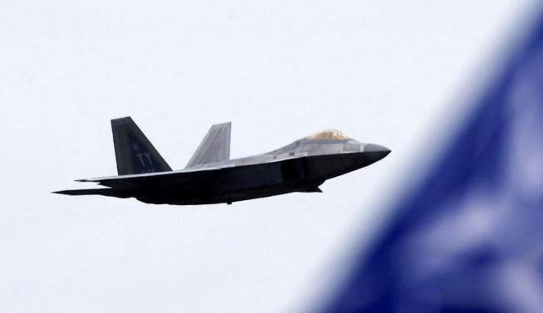 USA har femtegenerations-kampfly. Her et F-22.