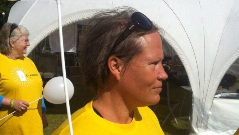 Efter sin egen sygdom deltager Lene Lissau hvert år i 'Stafet for livet' i Helsingør. Et døgn, hvor deltagende grupper skal gå eller løbe så langt som muligt, for at minde om, at kræftsyge aldrig har pause. De er syge 24 timer i døgnet.
