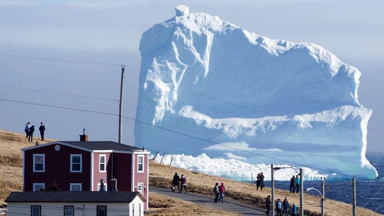 Et isbjerg, der angiveligt stikker hele 46 meter over havetsoverflade, driver lige nu rundt ud for kysten af den candiske by Ferryland. Det skaber trafikale problemer
