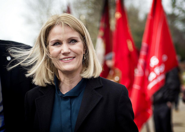 Her ses tidligere statsminister Helle Thorning-Schmidt (S)
