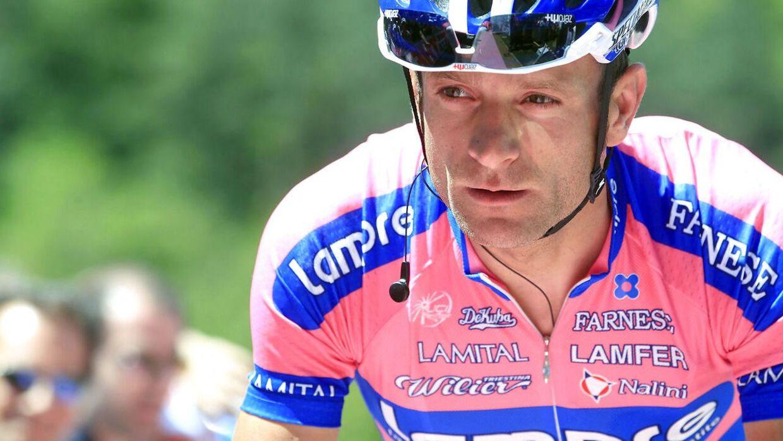Michele Scarponi vandt Giro d'Italia i 2011.