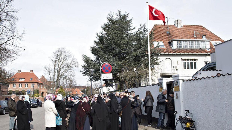 tyrkiske ambassade kbh
