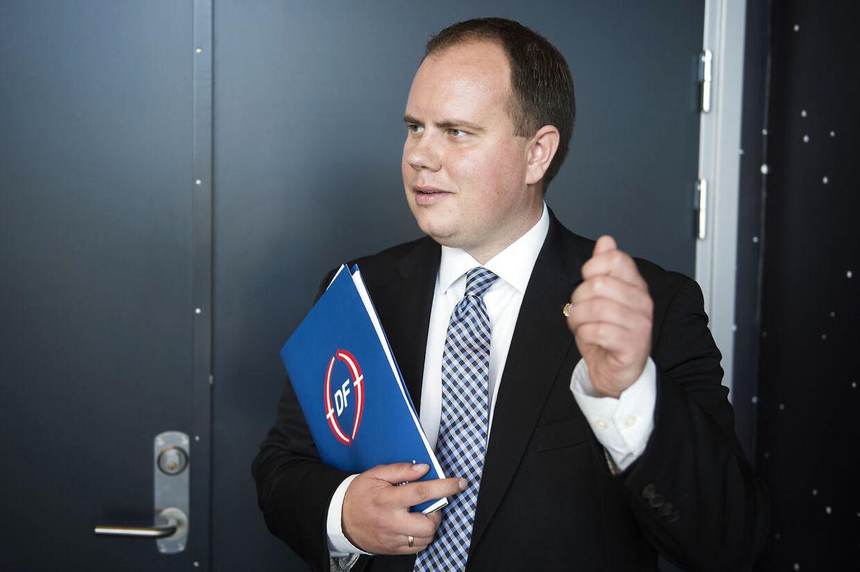 Dansk Folkepartis Martin Henriksen