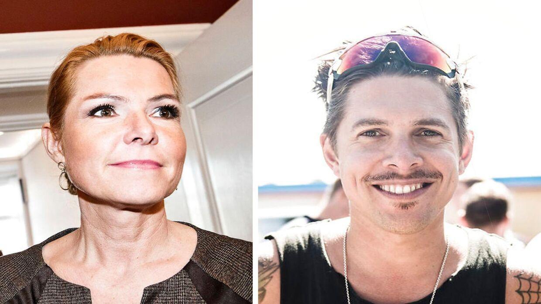 Inger Støjgerg og Mattias Hundebøll.