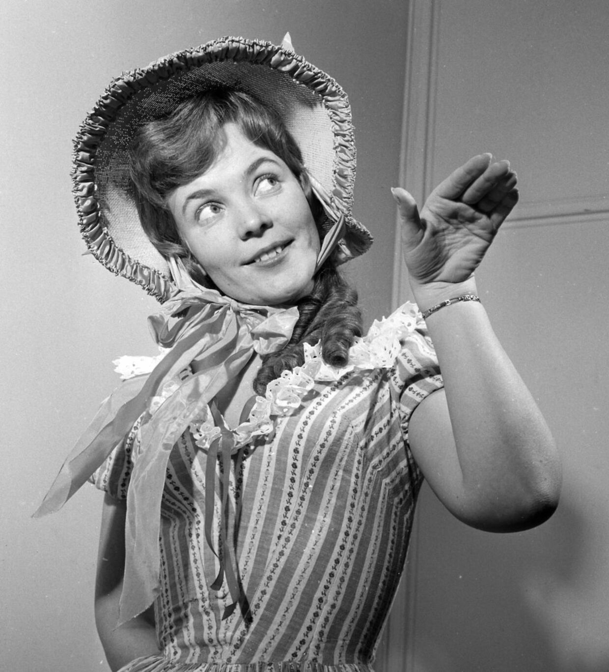 Katy Bødtger 7. marts 1960.