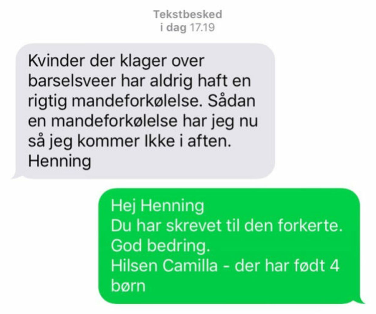 Sjove dating tekstbeskeder