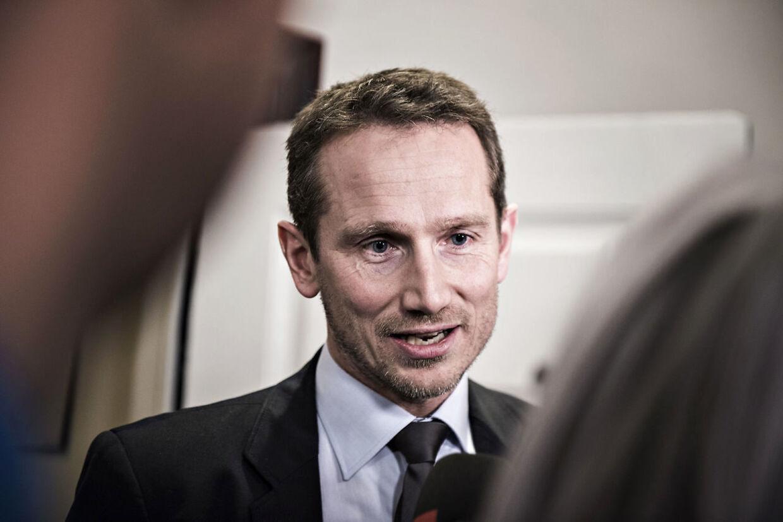 Tidligere skatteminister Kristian Jensen (V)
