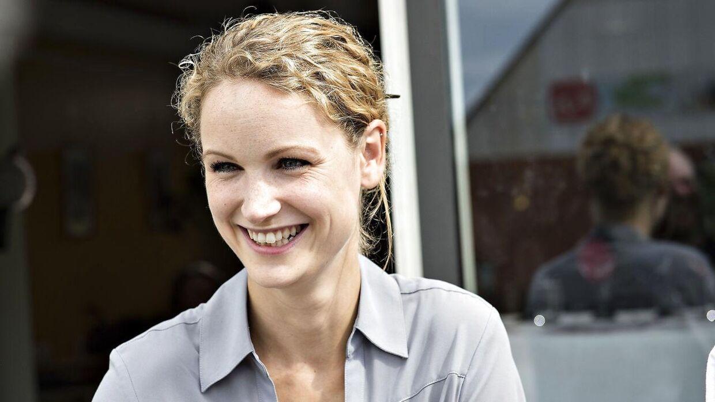 Pernille Skipper er gravid. (Foto: Henning Bagger/Scanpix 2017)