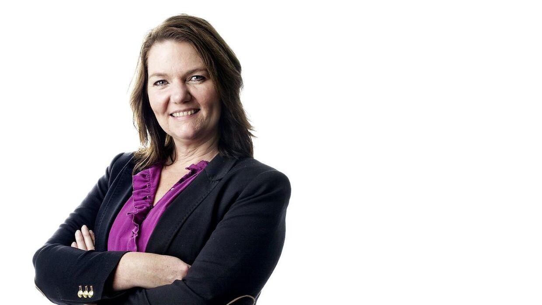Politisk kommentator Søs Marie Serup