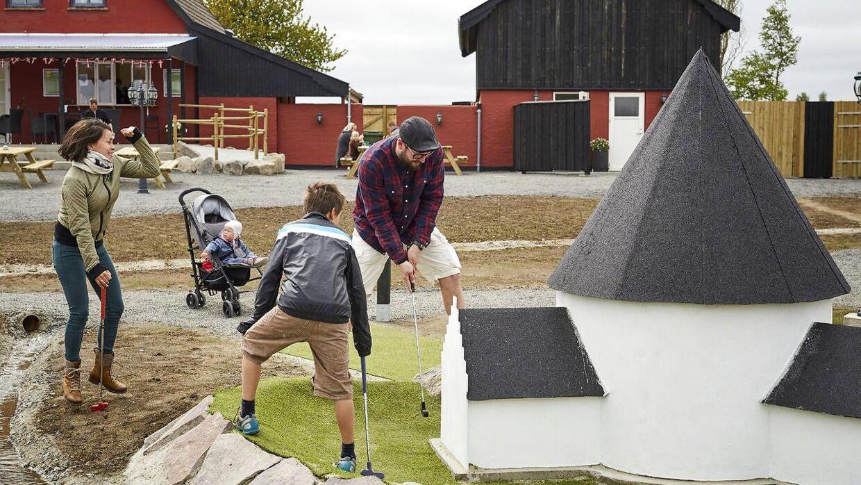 Nordeuropas største minigolfpark er fuld af sjov, leg og læring for hele familien.